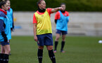 SOUTHAMPTON, ENGLAND - OCTOBER 21: Shannon Siewright during Southampton Women's training session at Staplewood Complex on October 21, 2020 in Southampton, England. (Photo by Isabelle Field/Southampton FC via Getty Images)