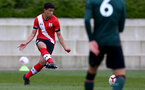 SOUTHAMPTON, ENGLAND - APRIL 10: Josh Squires of Southampton during the Premier League U18s match between Southampton U18 and Tottenham Hotspur at Staplewood Campus on April 10, 2021 in Southampton, England. (Photo by Isabelle Field/Southampton FC via Getty Images)