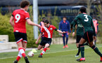 SOUTHAMPTON, ENGLAND - APRIL 10: Sonnie David of Southampton during the Premier League U18s match between Southampton U18 and Tottenham Hotspur at Staplewood Campus on April 10, 2021 in Southampton, England. (Photo by Isabelle Field/Southampton FC via Getty Images)