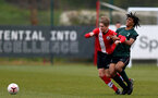 SOUTHAMPTON, ENGLAND - APRIL 10:  during the Premier League U18s match between Southampton U18 and Tottenham Hotspur at Staplewood Campus on April 10, 2021 in Southampton, England. (Photo by Isabelle Field/Southampton FC via Getty Images)
