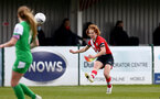 SOUTHAMPTON, ENGLAND - APRIL 11: Molly Mott of Southampton during the Vitality Women's FA Cup third round match between Southampton Women and Yeovil United Women at The Snows Stadium on April 11, 2021 in Southampton, England. (Photo by Isabelle Field/Southampton FC via Getty Images)