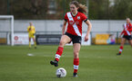 SOUTHAMPTON, ENGLAND - APRIL 11: Lucia Kendall of Southampton during the Vitality Women's FA Cup third round match between Southampton Women and Yeovil United Women at The Snows Stadium on April 11, 2021 in Southampton, England. (Photo by Isabelle Field/Southampton FC via Getty Images)