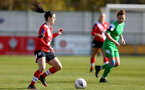SOUTHAMPTON, ENGLAND - APRIL 11: Laura De Silva of Southampton during the Vitality Women's FA Cup third round match between Southampton Women and Yeovil United Women at The Snows Stadium on April 11, 2021 in Southampton, England. (Photo by Isabelle Field/Southampton FC via Getty Images)