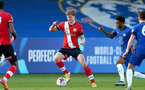 KINGSTON UPON THAMES, LONDON, ENGLAND - APRIL 12: Ryan Finnigan of Southampton during the Premier League 2 match between U23 Chelsea FC and Southampton B Team at the Kingsmeadow Stadium on April 12, 2021 in Kingston upon Thames, London, England.  (Photo by Isabelle Field/Southampton FC via Getty Images)