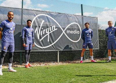 Saints join Virgin Media to launch virtual football academy