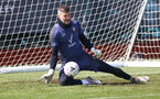 SOUTHAMPTON, ENGLAND - APRIL 16: Fraser Forster during a Southampton FC training session at the Staplewood Campus on April 16, 2021 in Southampton, England. (Photo by Matt Watson/Southampton FC via Getty Images)