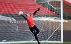 SOUTHAMPTON, ENGLAND - April 22: Kayla Rendall during Southampton Women's training session at St Mary's Stadium on April 22, 2021 in Southampton, England.  (Photo by Isabelle Field/Southampton FC via Getty Images)
