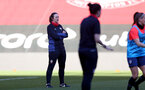 SOUTHAMPTON, ENGLAND - April 22: Marieanne Spacey-Cale during Southampton Women's training session at St Mary's Stadium on April 22, 2021 in Southampton, England.  (Photo by Isabelle Field/Southampton FC via Getty Images)