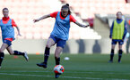 SOUTHAMPTON, ENGLAND - April 22: Ella Pusey during Southampton Women's training session at St Mary's Stadium on April 22, 2021 in Southampton, England.  (Photo by Isabelle Field/Southampton FC via Getty Images)