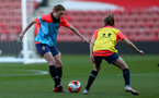 SOUTHAMPTON, ENGLAND - April 22: Rachel Panting during Southampton Women's training session at St Mary's Stadium on April 22, 2021 in Southampton, England.  (Photo by Isabelle Field/Southampton FC via Getty Images)