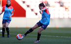 SOUTHAMPTON, ENGLAND - April 22: Sophia Pharoah during Southampton Women's training session at St Mary's Stadium on April 22, 2021 in Southampton, England.  (Photo by Isabelle Field/Southampton FC via Getty Images)