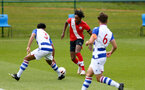READING, ENGLAND - APRIL 27: Ramello Mitchell of Southampton during the Premier League U18s match between Reading and Southampton U18s at Bearwood Park Training Ground on April 27, 2021 in Reading, England. (Photo by Isabelle Field/Southampton FC via Getty Images)