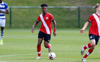 READING, ENGLAND - APRIL 27: Fedel Ross-Lang of Southampton during the Premier League U18s match between Reading and Southampton U18s at Bearwood Park Training Ground on April 27, 2021 in Reading, England. (Photo by Isabelle Field/Southampton FC via Getty Images)
