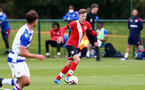 READING, ENGLAND - APRIL 27: Sam Bellis of Southampton during the Premier League U18s match between Reading and Southampton U18s at Bearwood Park Training Ground on April 27, 2021 in Reading, England. (Photo by Isabelle Field/Southampton FC via Getty Images)