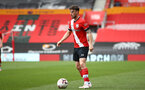SOUTHAMPTON, ENGLAND - MAY 02: Will Ferry of Southampton during the Premier League 2 match between Southampton B Team and Everton at the St Mayr's Stadium on May 02, 2021 in Southampton, England.  (Photo by Isabelle Field/Southampton FC via Getty Images)