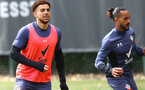 SOUTHAMPTON, ENGLAND - MAY 04: Che Adams during a Southampton FC training session at the Staplewood Campus on May 04, 2021 in Southampton, England. (Photo by Matt Watson/Southampton FC via Getty Images)