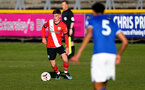 SOUTHPORT, ENGLAND - MAY 07: James Morris of Southampton during the Premier League 2 match between Everton and Southampton B Team at the The Pure Stadium on May 07, 2021 in Southport, England.  (Photo by Isabelle Field/Southampton FC via Getty Images)