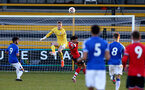 SOUTHPORT, ENGLAND - MAY 07: Jack Bycroft  of Southampton during the Premier League 2 match between Everton and Southampton B Team at the The Pure Stadium on May 07, 2021 in Southport, England.  (Photo by Isabelle Field/Southampton FC via Getty Images)