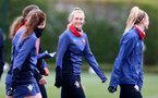 SOUTHAMPTON, ENGLAND - MAY 12: Cattlin Morris during Southampton Women's training session at Staplewood Training Ground on May 12, 2021 in Southampton, England.  (Photo by Isabelle Field/Southampton FC via Getty Images)