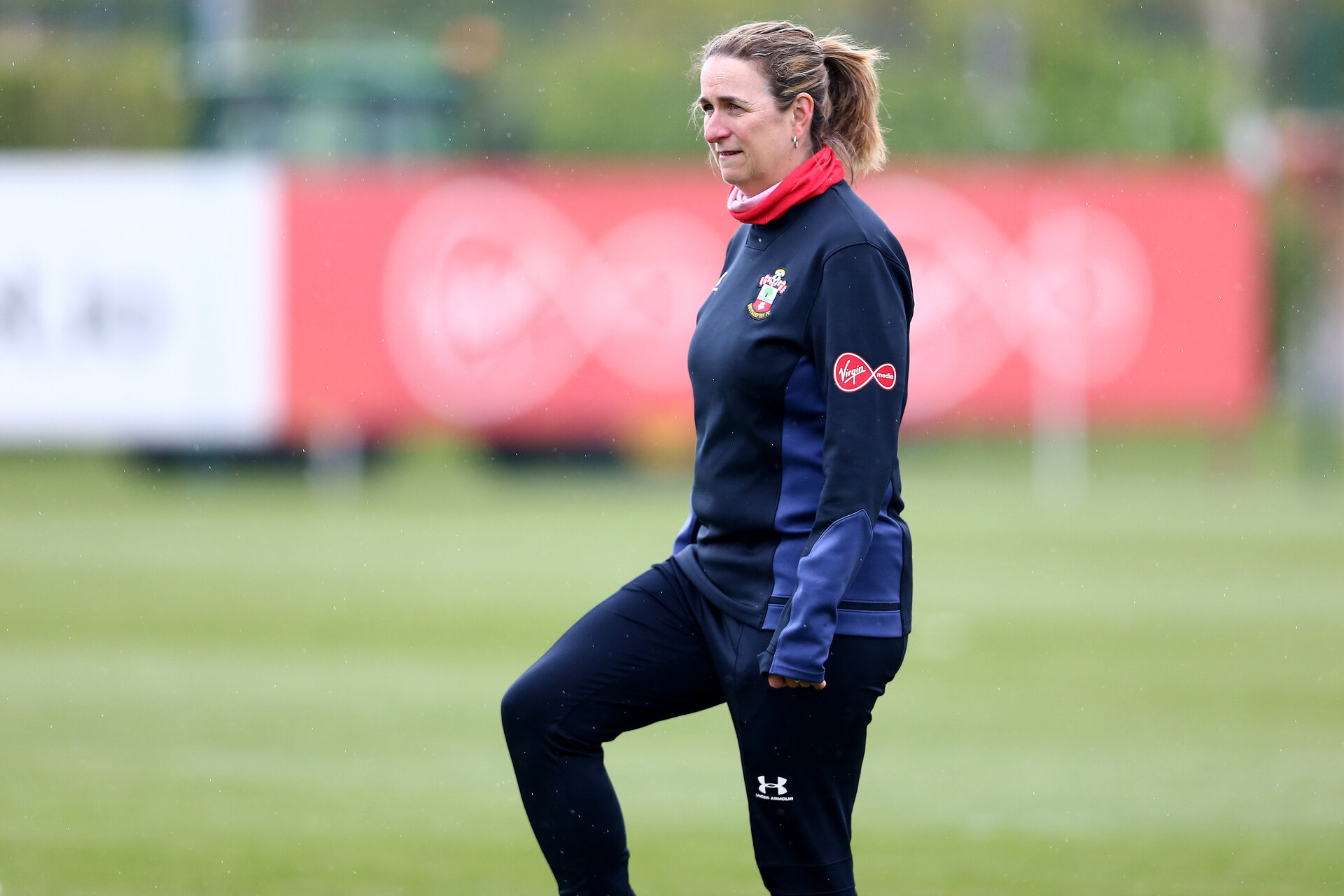 SOUTHAMPTON, ENGLAND - MAY 12: Marieanne Spacey-Cale during Southampton Women's training session at Staplewood Training Ground on May 12, 2021 in Southampton, England.  (Photo by Isabelle Field/Southampton FC via Getty Images)