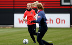 SOUTHAMPTON, ENGLAND - MAY 12: Rosie Parnell during Southampton Women's training session at Staplewood Training Ground on May 12, 2021 in Southampton, England.  (Photo by Isabelle Field/Southampton FC via Getty Images)