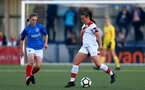 HAVANT, ENGLAND - MAY 19: Shannon Siewright of Southampton during the Hampshire FA Women's Senior Cup Final against Portsmouth Women and Southampton Women at Westleigh Park on May 19, 2021 in Havant, England. (Photo by Isabelle Field/Southampton FC via Getty Images)