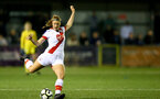 HAVANT, ENGLAND - MAY 19: Cattlin Morris of Southampton during the Hampshire FA Women's Senior Cup Final against Portsmouth Women and Southampton Women at Westleigh Park on May 19, 2021 in Havant, England. (Photo by Isabelle Field/Southampton FC via Getty Images)