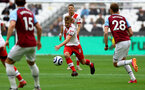 LONDON, ENGLAND - MAY 23: James Ward-Prowse of Southampton during the Premier League match between West Ham United and Southampton at London Stadium on May 23, 2021 in London, England. (Photo by Matt Watson/Southampton FC via Getty Images)