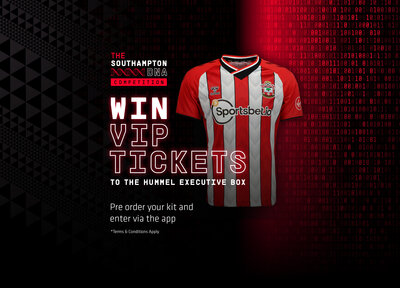 Win VIP match tickets in the hummel Executive Box