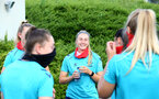 SOUTHAMPTON, ENGLAND - July 01: Caitlin Morrisduring Southampton women's first pre season training session at Staplewood training ground on July 01, 2021 in Southampton, England. (Photo by Isabelle Field/Southampton FC via Getty Images)