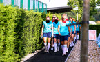 SOUTHAMPTON, ENGLAND - July 01: during Southampton women's first pre season training session at Staplewood training ground on July 01, 2021 in Southampton, England. (Photo by Isabelle Field/Southampton FC via Getty Images)