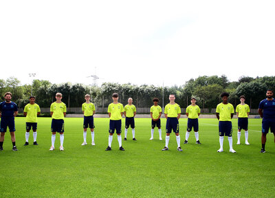 Ten youngsters sign Academy scholarships