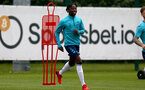 SOUTHAMPTON, ENGLAND - July 05: Kegs Chauke during Southampton B Team per season training session at Staplewood training ground on July 05, 2021 in Southampton, England. (Photo by Isabelle Field/Southampton FC via Getty Images)