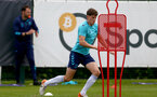 SOUTHAMPTON, ENGLAND - July 05: Will Tizzard during Southampton B Team per season training session at Staplewood training ground on July 05, 2021 in Southampton, England. (Photo by Isabelle Field/Southampton FC via Getty Images)
