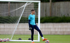 SOUTHAMPTON, ENGLAND - July 05: Oliver Wright during Southampton B Team per season training session at Staplewood training ground on July 05, 2021 in Southampton, England. (Photo by Isabelle Field/Southampton FC via Getty Images)