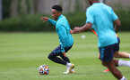 SOUTHAMPTON, ENGLAND - JULY 07: Kyle Walker-Peters during a Southampton FC pre-season training session at The Staplewood Campus on July 07, 2021 in Southampton, England. (Photo by Matt Watson/Southampton FC via Getty Images)