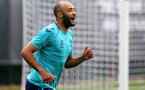 SOUTHAMPTON, ENGLAND - JULY 08: Nathan Redmond during a Southampton FC pre season training session at the Staplewood Campus on July 08, 2021 in Southampton, England. (Photo by Matt Watson/Southampton FC via Getty Images)