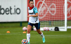 SOUTHAMPTON, ENGLAND - July 08: Laura Rafferty during Southampton Women's per season training session at Staplewood training ground on July 08, 2021 in Southampton, England. (Photo by Isabelle Field/Southampton FC via Getty Images)