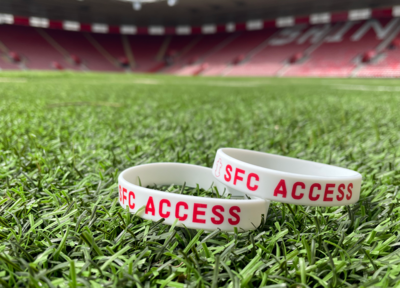 Saints introduce Access Wristbands for matchdays