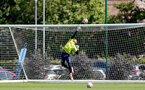 SOUTHAMPTON, ENGLAND - July 14: Gustav Lillienberg during Southampton U18s per season training session at Staplewood training ground on July 14, 2021 in Southampton, England. (Photo by Isabelle Field/Southampton FC via Getty Images)