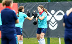 SOUTHAMPTON, ENGLAND - JULY 15: Lucia Kendall during Southampton Women's per-season training session at Staplewood Complex on July 15, 2021 in Southampton, England. (Photo by Isabelle Field/Southampton FC via Getty Images)