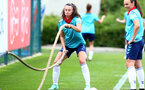 SOUTHAMPTON, ENGLAND - JULY 15: Laura Raffertyduring Southampton Women's per-season training session at Staplewood Complex on July 15, 2021 in Southampton, England. (Photo by Isabelle Field/Southampton FC via Getty Images)