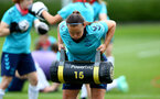 SOUTHAMPTON, ENGLAND - JULY 15: Shannon Sievwright during Southampton Women's per-season training session at Staplewood Complex on July 15, 2021 in Southampton, England. (Photo by Isabelle Field/Southampton FC via Getty Images)