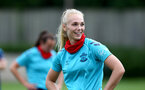 SOUTHAMPTON, ENGLAND - JULY 15: Rosie Parnell during Southampton Women's per-season training session at Staplewood Complex on July 15, 2021 in Southampton, England. (Photo by Isabelle Field/Southampton FC via Getty Images)