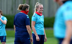 SOUTHAMPTON, ENGLAND - JULY 15: Kayla Rendell during Southampton Women's per-season training session at Staplewood Complex on July 15, 2021 in Southampton, England. (Photo by Isabelle Field/Southampton FC via Getty Images)