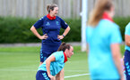 SOUTHAMPTON, ENGLAND - JULY 15: Marieanne Spacey-Cale during Southampton Women's per-season training session at Staplewood Complex on July 15, 2021 in Southampton, England. (Photo by Isabelle Field/Southampton FC via Getty Images)