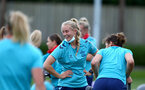 SOUTHAMPTON, ENGLAND - JULY 15: Catilin Morris during Southampton Women's per-season training session at Staplewood Complex on July 15, 2021 in Southampton, England. (Photo by Isabelle Field/Southampton FC via Getty Images)