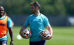 SOUTHAMPTON, ENGLAND - JULY 16: Shane Long during pre-season training session at Staplewood Complex on July 16, 2021 in Southampton, England. (Photo by Isabelle Field/Southampton FC via Getty Images)