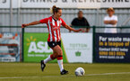 SOUTHAMPTON, ENGLAND - July 20: Shelly Provan of Southampton during per-season friendly between Saints Women and Southampton Women Development team at The Snows Stadium on July 20, 2021 in Southampton, England. (Photo by Isabelle Field/Southampton FC via Getty Images)