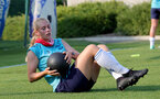 SOUTHAMPTON, ENGLAND - July 21: Catilin Morris during Southampton Women's pre-season training at Staplewood Training Ground on July 21, 2021 in Southampton, England. (Photo by Isabelle Field/Southampton FC via Getty Images)
